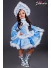 костюм Снегурочки 319 заказать в Санкт - Петербурге, недорого, низкая цена.