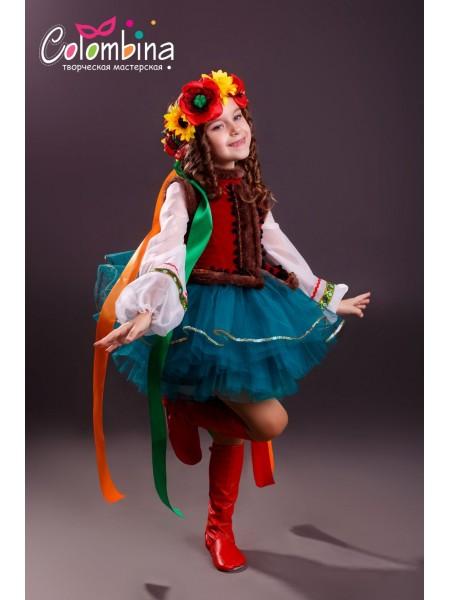 Костюм украинки. Украинский народный костюм 684